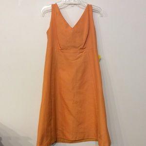 J. Crew Orange Dress size 14